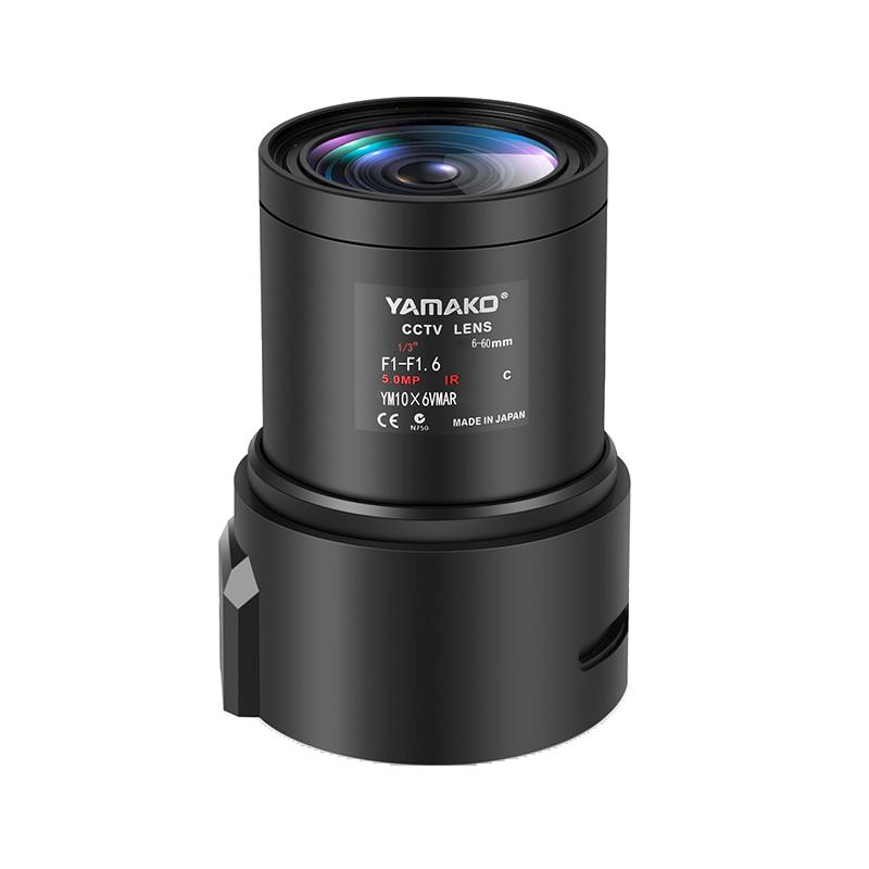 6-60mm高清手动变倍镜头