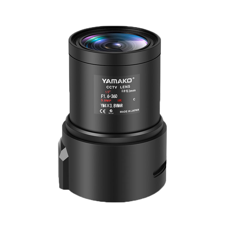 3.8-15.2mm高清手动变倍镜头
