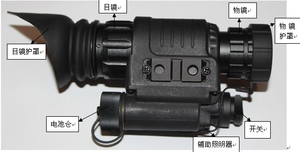 多功能微光夜视仪