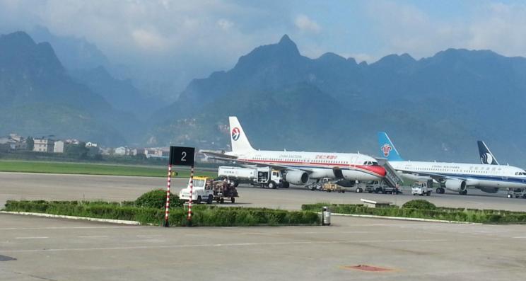 山区机场飞机飞行异物监测项目