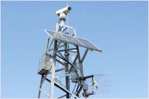 这个小镇实现高空瞭望监控全覆盖守护群众安全