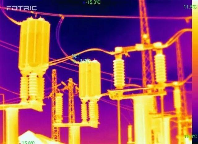 热成像仪应用在仪器设备检测中