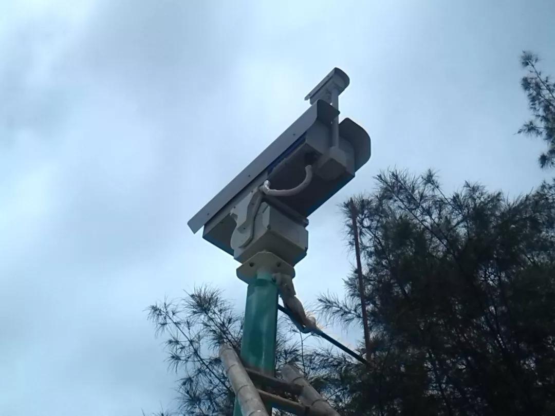 七坡林场森林防火视频监控系统通过自治区林业局验收