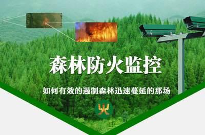 """全省率先运用林业红外高清晰监控系统助力""""智慧林业""""建设"""