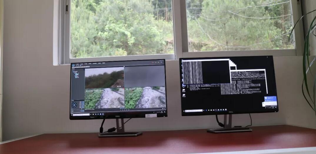姑婆山保护区(林场)利用先进装备技术,加强森林火灾防控