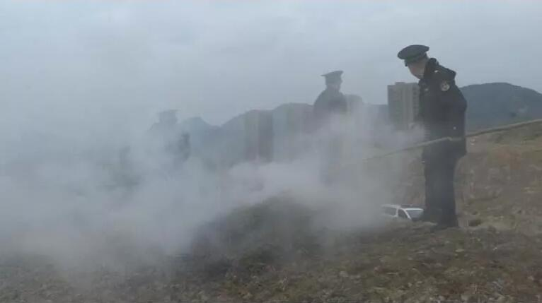 全天候无死角监测,你还敢在市区周边烧秸秆吗?