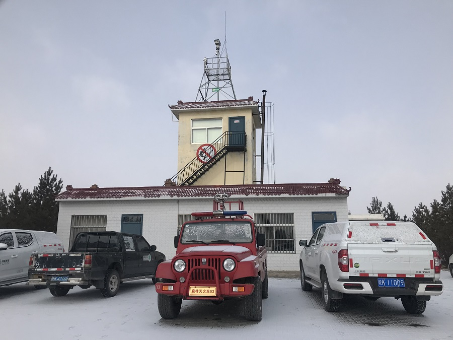 华瑞通为陕西榆林某林场森林防火监控系统设计方案