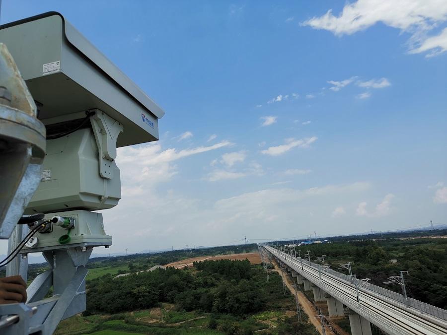 合安高铁铁轨监控系统