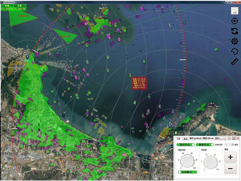 边海防近海船舶监控管理全天候远距离昼夜监测系统雷达光电AIS综合监控系统
