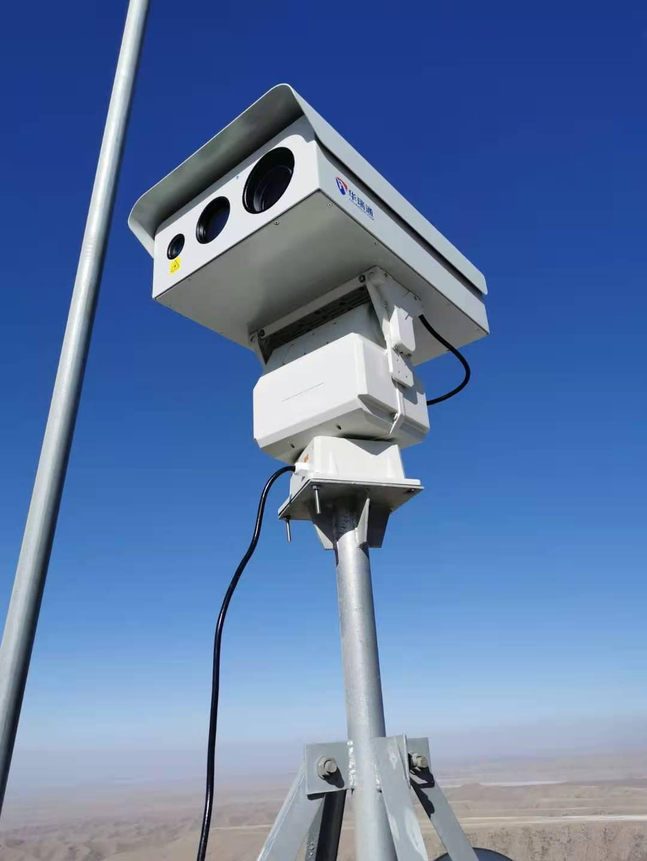 华瑞通为内蒙古阿拉善左旗某草原设计草原防火监控预警系统