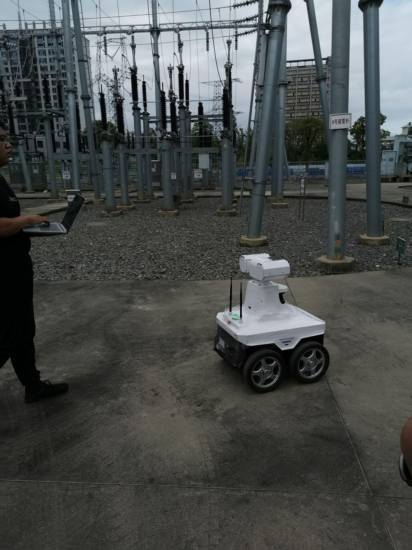 5G+智能巡检机器人是未来变电站工作模式